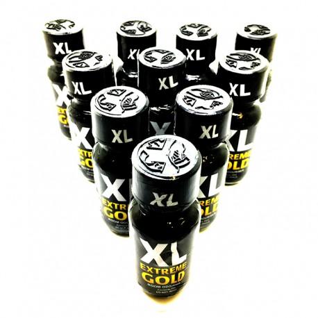 10 x 25ml XL EXTREME GOLD