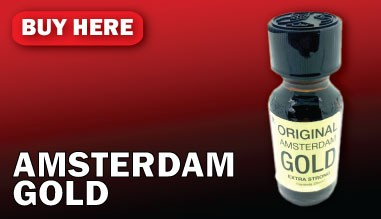 Amsterdam Gold Poppers for sale